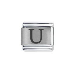 L057 Italian Charm letter U
